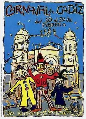Cartel Carnaval de Cádiz 1994