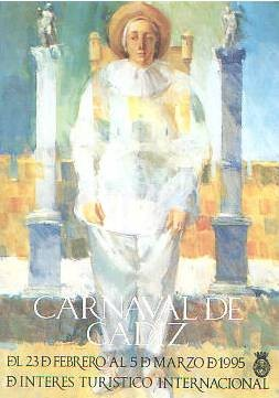 Cartel Carnaval de Cádiz 1995