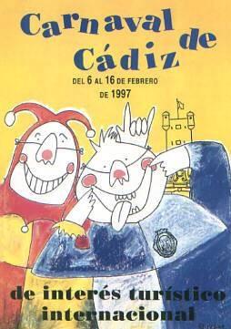 Cartel Carnaval de Cádiz 1997