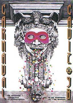 Cartel Carnaval de Cádiz 1998