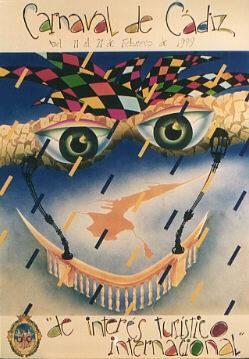 Cartel Carnaval de Cádiz 1999
