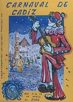 Cartel Carnaval de Cádiz 2000