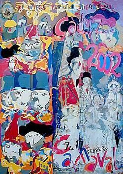 Cartel Carnaval de Cádiz 2002