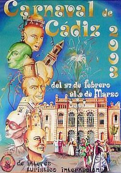 Cartel Carnaval de Cádiz 2003
