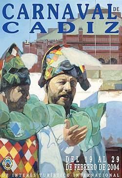 Cartel Carnaval de Cádiz 2004