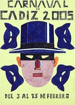 Cartel Carnaval de Cádiz 2005