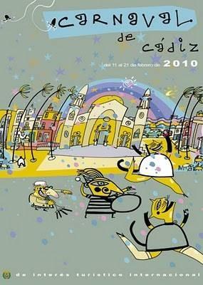 Cartel Carnaval de Cádiz 2010