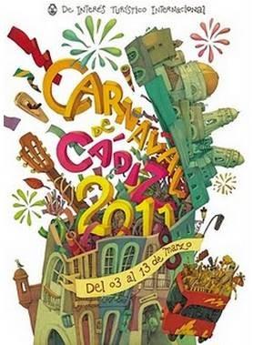 Cartel Carnaval de Cádiz 2011