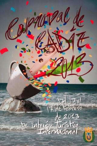 Cartel Carnaval de Cádiz 2013