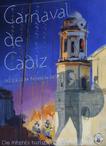 Cartel Carnaval de Cádiz 2015